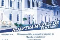 Noaptea muzeelor la Muzeul