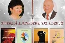 Sibiana Mirela Antoche și Alexandru Ene își lansează cărțile la Cercul Militar Brăila
