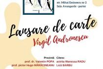 Virgil Andronescu lansează Nuclee aforistice. Evenimentul va avea loc miercuri 28 noiembrie la Teatrul Maria Filotti