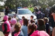 Astăzi, preşcolarii le-au amintit adulţilor regulile privind traversarea străzii