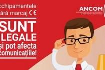 ANCOM: Echipamentele radio fără marcaj sunt ilegale și pot bloca ori întrerupe apelurile la numărul de urgență 112!