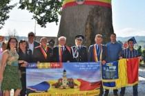 """Grupul de Inițiativă """"Centenar-Marea Unire-Alba Iulia-2018"""" a fost prezent la """"SERBĂRILE NAȚIONALE – TEBEA 2018"""""""