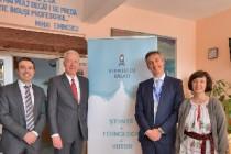 Hans Klemm Ambasadorul SUA în vizită la Științescu Galați