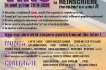 """Au început înscrierile 2019-2020 la Şcoala Populară de Arte """"Vespasian Lungu"""" Brăila"""