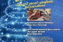 Concert de Crăciun al Filarmonicii LYRA-GEORGE CAVADIA BRĂILA