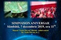 Simpozion internațional Planetariul Bârlad-10 ani de la inaugurare