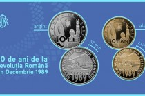 BNR: Emisiune numismatică cu tema 30 de ani de la Revoluția Română din Decembrie 1989