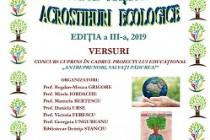 """ACROSTIHURI ECOLOGICE"""" EDIȚIA a III- a, 2018 – 2019"""