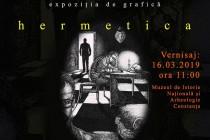 """Expoziția de grafică """"HERMETICA"""""""