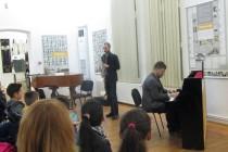 Lucian Ban și clarinetistul român din Amsterdam Alex Simu. Jazz la Braila
