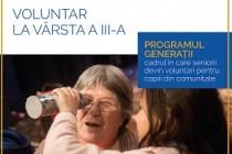 În Galați se caută voluntari seniori pentru activități educaționale cu copii vulnerabili