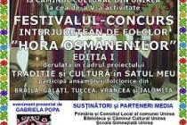 Festivalul-Concurs interjudetean de folclor Hora Osmanenilor in comuna Unirea