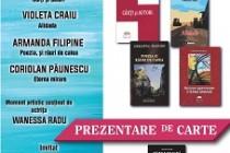 """Armanda Filipine, debut editorial cu volum propriu """"Poezia și râuri de cafea"""", în cadrul Salonului literar Axis Libri de la Galați"""