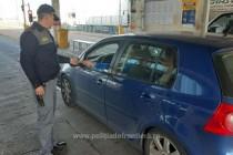 Infracțiuni la regimul juridic al circulației rutiere, depistate de poliţiştii de frontieră gălăţeni