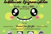 """Gala laureaților festivalului concurs """"Întâlnirea epigramiștilor"""", ediția a XXXII-a, Brăila"""
