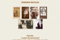 Expoziție | Repere ale unei biografii intelectuale: Edmond Nicolau
