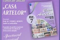 """Lansarea publicaţiei culturale anuale """"Casa artelor"""", pe anul 2019"""