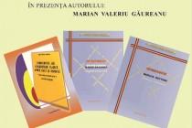 Marian Valeriu Găureanu lanseaza trei volume la Brăila