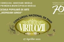 Marele Premiu şi Trofeul Concursului Virtuozii, ediţia a XII-a, au fost câştigate de Pavaluca Diana din Republica Moldova