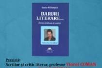 Lucia Pătrașcu lansează volumul Daruri Literare.Lirica brăileană de astăzi - Valentina Balaban