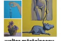 Walter Mărăcineanu - Atelier. Expoziție 21 august - 8 septembrie 2021 la Galeriile de Artă Brăila