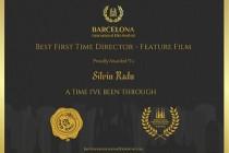 Silviu Radu a fost desemnat cel mai bun regizor la secțiunea Feature Film Category la Barcelona International Film Festival 2021