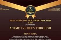 Premiu | Silviu Radu câștigă un premiu pentru regie în India