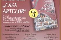 A apărut numărul opt al Publicaţiei culturale anuale Casa Artelor realizată de Şcoala Populară de Arte Vespasian Lungu Brăila