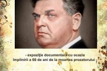 Brăila | Expoziție documentară dedicată lui Mihail Sadoveanu