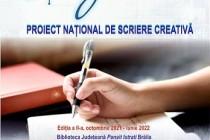 Proiectul Național de Scriere creativă