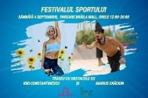 Brăila | Festivalul Sportului – maraton de activități sportive