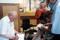 Ghinea Mitrea a lansat patru romane la sediul CARP Brăila