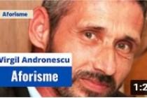 Virgil Andronescu citește din propriile aforisme