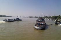 Flotila Fluvială organizează Ziua Marinei Române în trei oraşe de la Dunăre