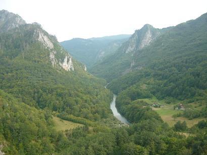 Muntenegru, raul Tara