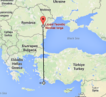 harta experiment elevi Romania-Grecia