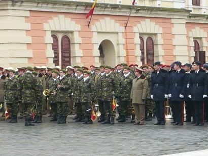 armata romana la Alba Iulia