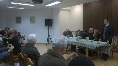 Vasile Mandric - lansare Spatiu rasturnat