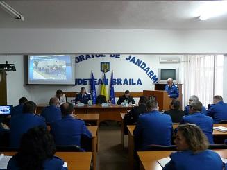 sedinta bilant activitate jandarmi braileni