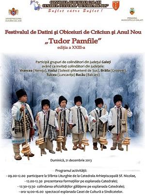 festival colinde Galati