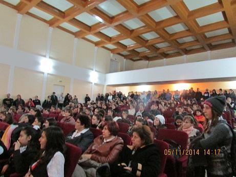 Casa Cultura Faurei, spectacol Paunescu