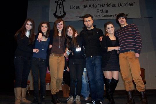elevii Liceului de Arta Braila