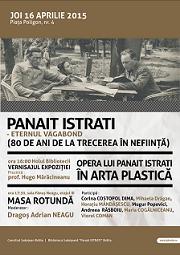 eveniment Panait Istrati