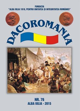 coperta-fata Dacoromania, nr. 76