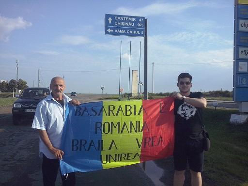 Braileni la mitingul din 5 iulie din Chisinau