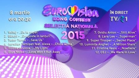eurovision, ordine concurs
