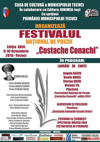 Festivalul Costache Conachi 2015