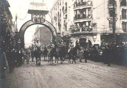 intrare Rege si Regină în Alba Iulia, foto arhivă