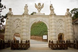 Cetatea Alba Iulia, poarta I