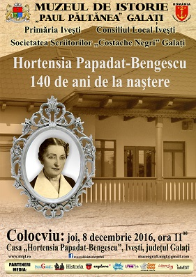 140 de ani H.P. Bengescu